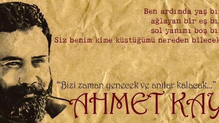 Ahmet Kaya'nın anısına…