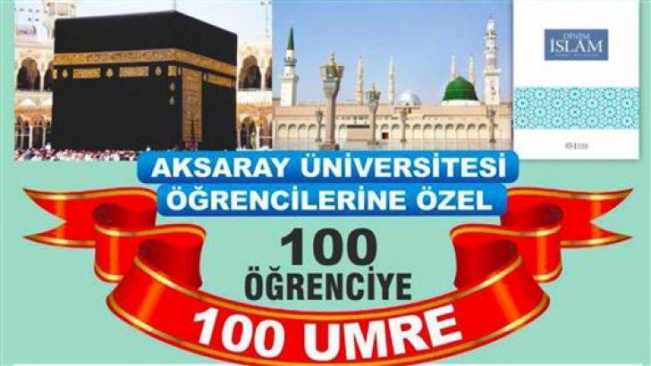 100 Öğrenci Sınavsız Umre'ye Gidiyor