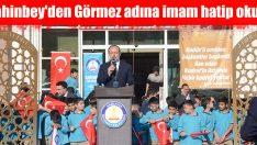 Şahinbey'den Mehmet Görmez adına imam hatip okulu