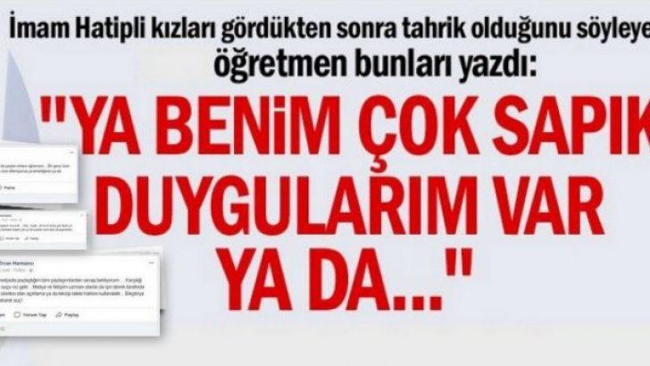 Öğretmen Ercan Harmancı'nın Tepki Çeken Paylaşımları