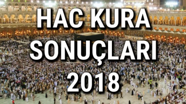 2018 Hac Kurası Çekiliyor…