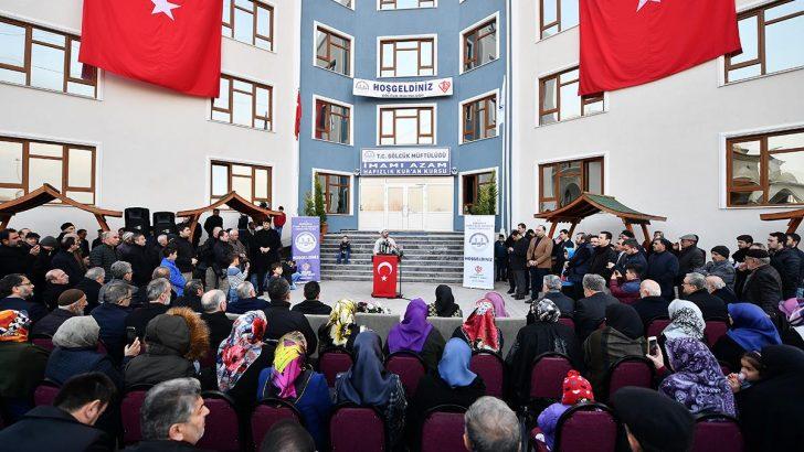 Türkiye'de 25 bini aşkın Kur'an kursu bulunuyor