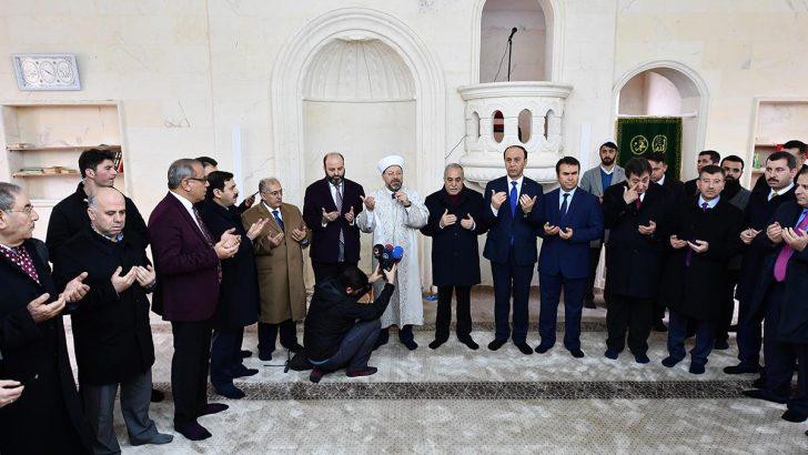 Diyanet İşleri Başkanı Erbaş, Şanlıurfa'da