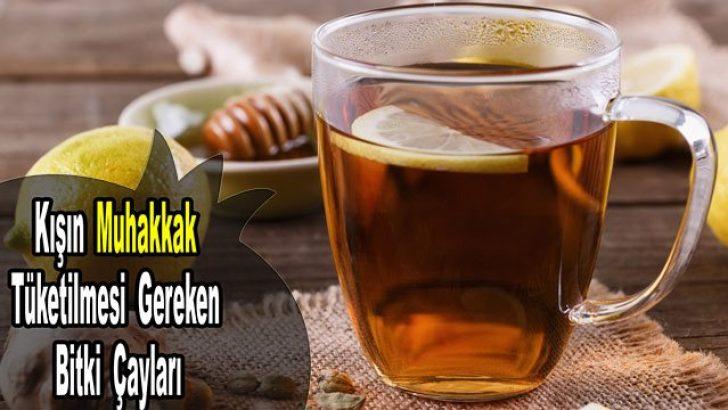 Sizi kış hastalıklarından koruyacak 7 bitki çayı