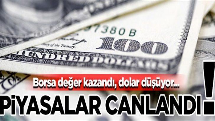Piyasalar hareketlendi! Afrin'e yaklaştıkça dolar düşüyor