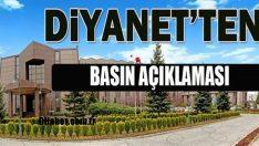 Diyanet'ten Doğu Guta'daki Katliamlara İlişkin Basın Açıklaması