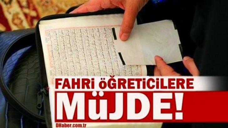 Fahri Öğreticilere Müjde!