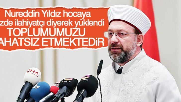 Diyanet İşleri Başkanı Ali Erbaş'dan Nureddin Yıldız açıklaması!