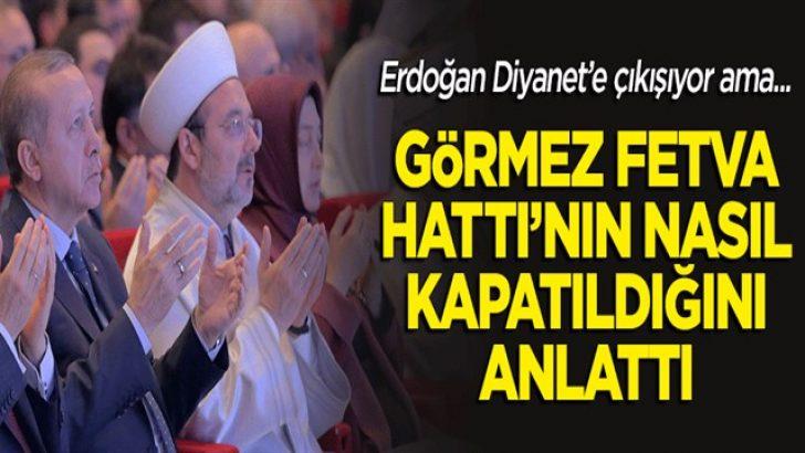Erdoğan Diyanet'e çıkışıyor ama Fetva Hattı'nı bu İslam düşmanı medya kapattırmadı mı?