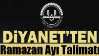 Ramazan Ayı Faaliyetler Dhys'ye Girilecek