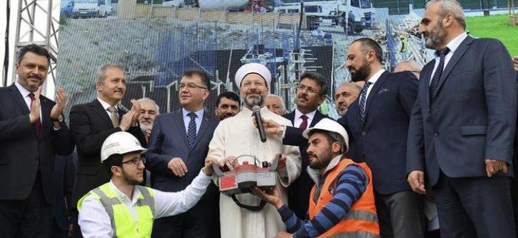 Küçükçekmece İlçe Müftülüğü Yeni Hizmet Binası dualarla açıldı