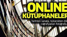 Dünyanın Dört Bir Yanında Hizmet Veren Online Kütüphaneler, Arşivler!