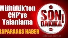 İl Müftülüğünden CHP'ye Yalanlama