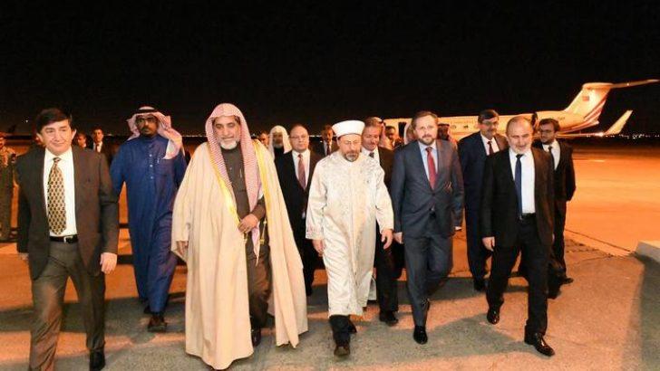 Diyanet İşleri Başkanı Erbaş Riyad'da