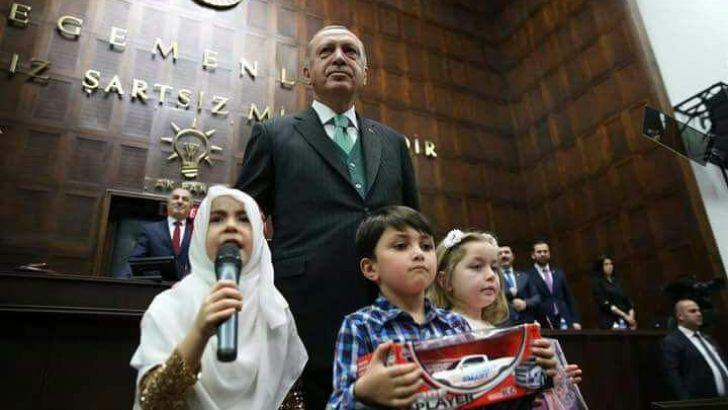 Fahri öğreticiler bugün grup toplantısında Cumhurbaşkanı ile görüştü