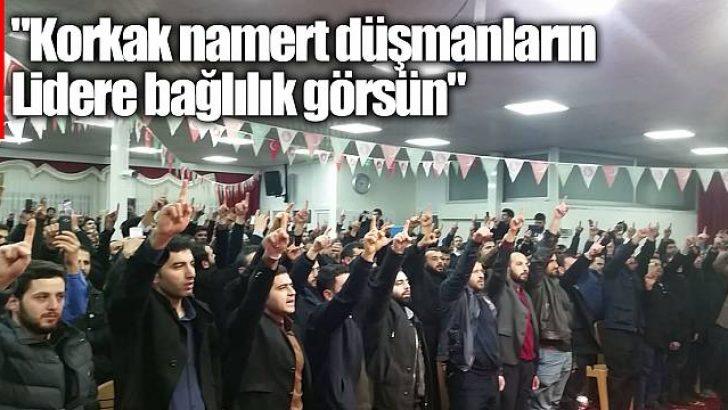 Furkan Vakfı üyeleri toplantı yapıp devlete meydan okudu!
