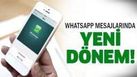 """WhatsApp'ta """"açıklama"""" dönemi"""