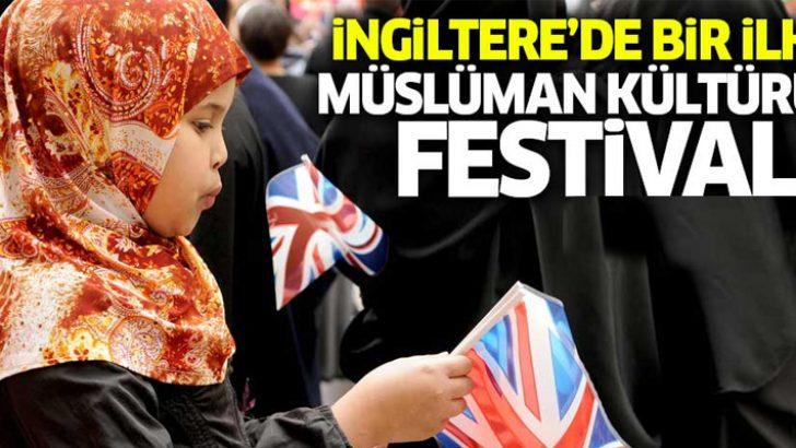 İngiltere'de bir ilk; Müslüman kültürü festivali