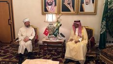 Başkan Erbaş, Suudi Arabistan Hac ve Umre Bakanını ziyaret etti