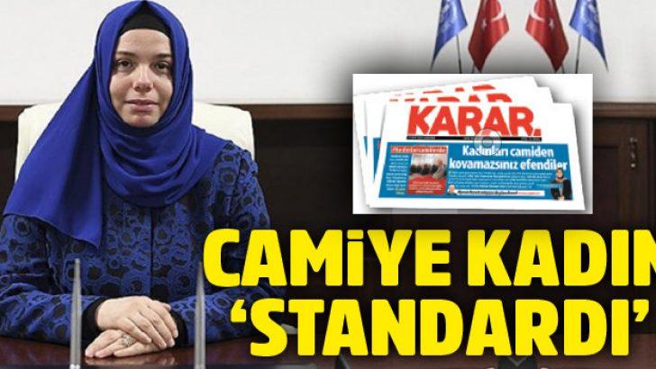 Camiye kadın 'standardı'