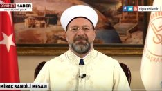Prof. Dr. Ali ERBAŞ'tan Miraç Kandili Mesajı