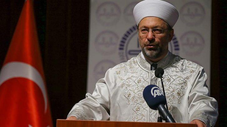 Erbaş, Din İstismarcılarıyla Mücadeleyi Başlattı [video]