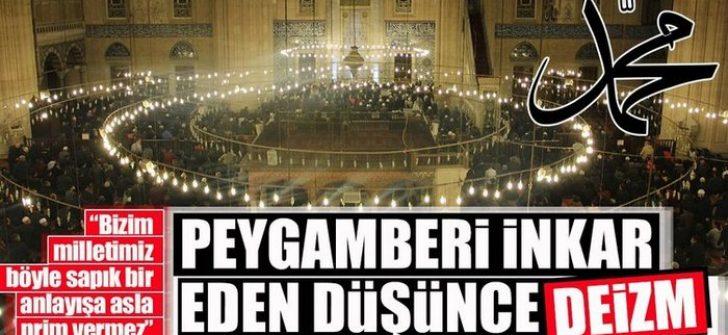 """Diyanet İşleri Başkanı Erbaş'tan flaş """"Deizm"""" açıklaması"""
